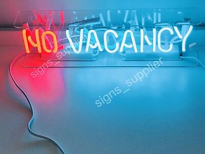 "New No Vacancy ON/Off NO Neon Sign Acrylic Gift Light Lamp Bar Poster 15""x6"" for sale  Shipping to Canada"