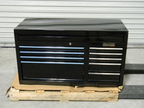 "Proto Blackhawk Top Chest Tool Box 9 Drawer 41"" x 18"" x 23"" Steel Black 94109C"