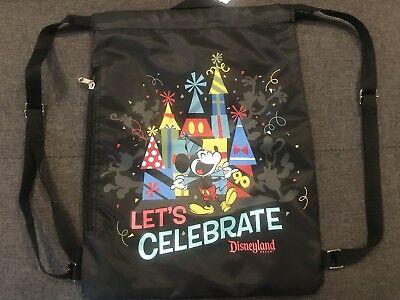 Disney Cinch Bag (DISNEY PARKS LET'S CELEBRATE MICKEYS 90TH CINCH SACK BAG)