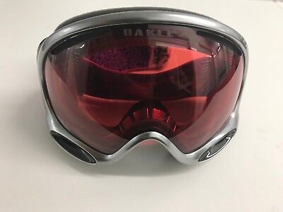 OAKLEY A Frame 2.0 Snow Ski Googles GRAY / UNISEX Prizm Enhanced Vision / $130