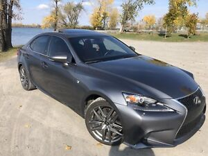 LEXUS IS 350 F sport AWD 2014 impeccable