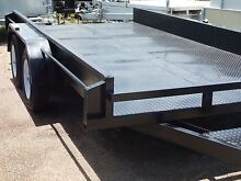 14 X 6' 6 CAR TRANSPORTER / RIDE ON MOWER / QUADS OR MOTOR BIKES Garbutt Townsville City Preview