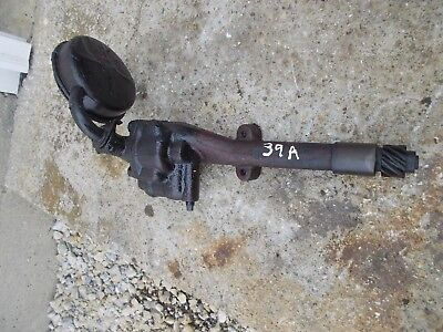 1939 Farmall Ih A B Bn Tractor Engine Motor Main Oil Pump Assembly
