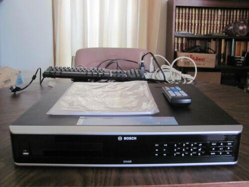 BOSCH DIVAR AN 5000 16 Channel DIGITAL VIDEO RECORDER