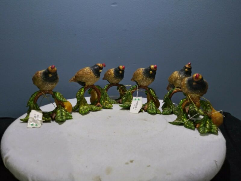 Pheasant Napkin Holders