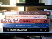 Textbooks for SALE at a CHEAP PRICE!!! South Brisbane Brisbane South West Preview