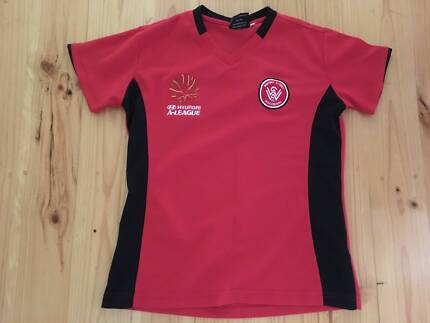 Hyundai A League Ladies Wanderers official T-Shirt size 10 as new
