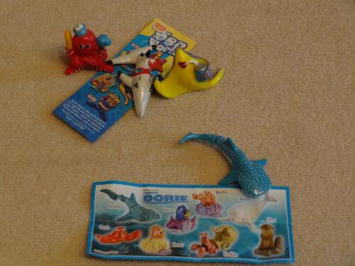 Ü Ei Findet Dorie Destiny mit BPZ & 3 Figuren Sea World Octopussy, MoBilly, Rayz