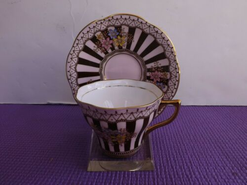 Vintage Rosina 5350 Tea Cup and Saucer