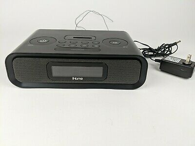 iHome iP97 Dual Alarm Clock Radio for iPhone and iPod - Black
