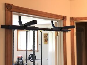 Weight rack and pull up bar