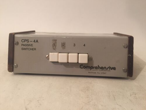 Comprehensive Passive Switcher CPS-4AA *FAST FREE SHIPPING* Good Clean