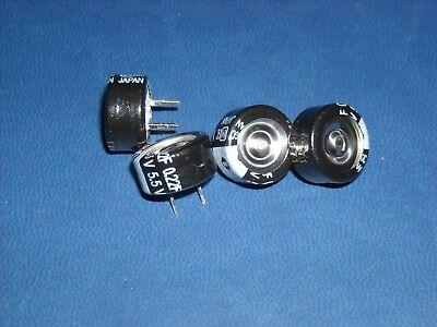 4 Pcs Panasonic Eec-f5r5u224n Supercap 0.22f 5.5v 13.5 X 7.5 Rohs