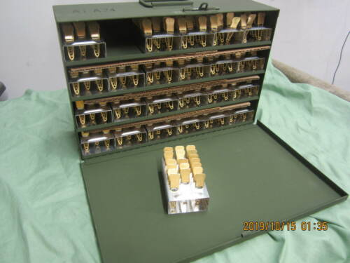 Military Brass Laundry Pins Case of 480  NOS