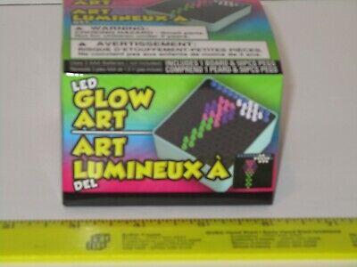 LED Glow Art - Create Beautiful Designs w/Light, Arts/Crafts Toy Play Lite-Brite Create Beautiful Designs