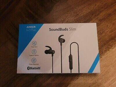 Anker soundbuds slim bluetooth wireless ear phones.