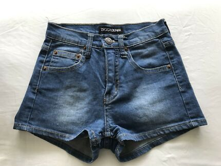 Wanted: Ziggy demin high waisted shorts size 24 (size 6)