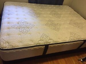Queen-size Sealy mattress and box spring
