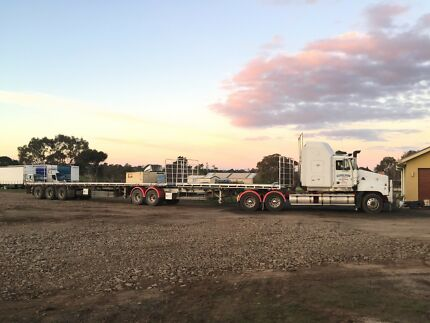 B Double Flat Top trailers Epping Whittlesea Area Preview