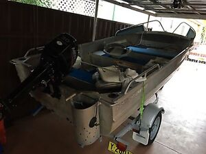 CLARK abalone 4.3 tinny tinnie dinghy with 2016 mercury 30hp Sans Souci Rockdale Area Preview