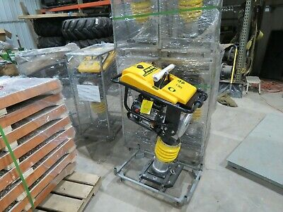 Jumping Jack Tamping Rammer Dirt Tamper Compactor W6.5hp 196cc Mustang Ml80d