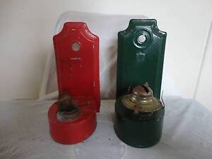 two vintage wall oil lamps- can post Armidale City Preview