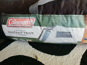 6 person Coleman instant tent