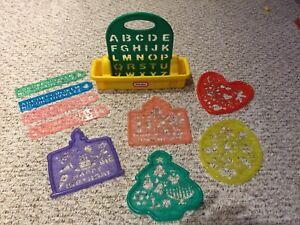 Little tikes stencil set