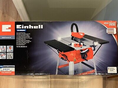 Einhell 250mm Table Saw With Side Extentions & Stand 2000W TC-TS 2025/1 U