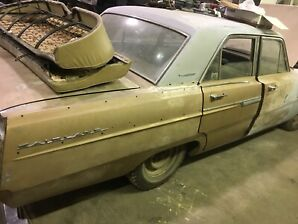 1965 Ford Fairlane project 0 rust