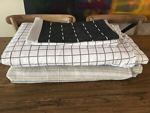 2 x queen size flannelette quilt cover sets. Oakleigh East Monash Area Preview