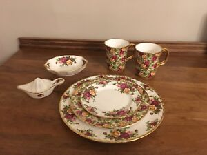 Old country rose and chintz royal doulton