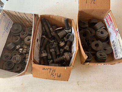 Huge Lot Of Greenlee Conduit Punches Metal Knockout Punch Driver Set Accessory
