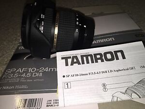 TAMRON SP AF 10- 24mm wide angle lens (nikon mount) Armidale Armidale City Preview