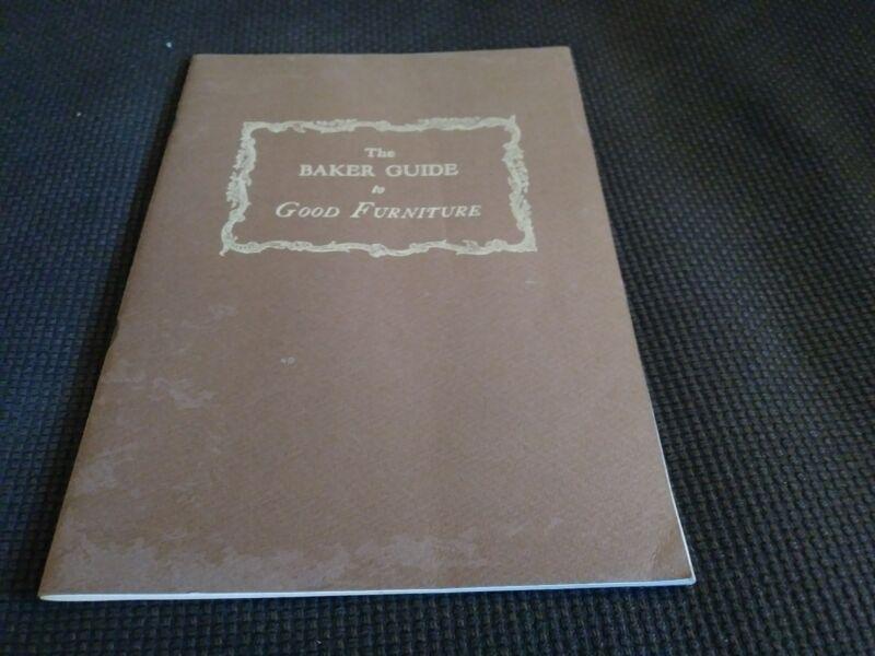 Baker Guide To Good Furniture Vintage Book Catalog 1947