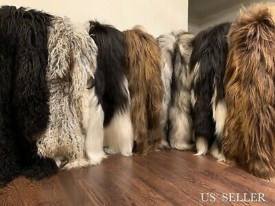 ICELANDIC Genuine Natural Sheepskin Fur Rug Throw Beautiful Colors Modern - Sheepskin Rug