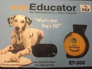 Dog training collar and remote