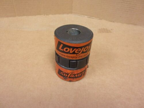 Two Lovejoy L-100 .625 Couplings With Spider Insert