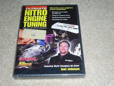 ultimate nitro engine tuning how to dvd featuring Joel Johnson (DVD) RC vechicle