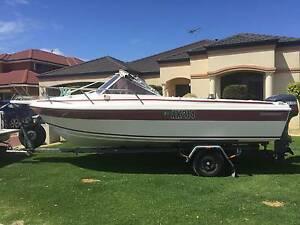 Caribbean Fiberglass boat Pearsall Wanneroo Area Preview