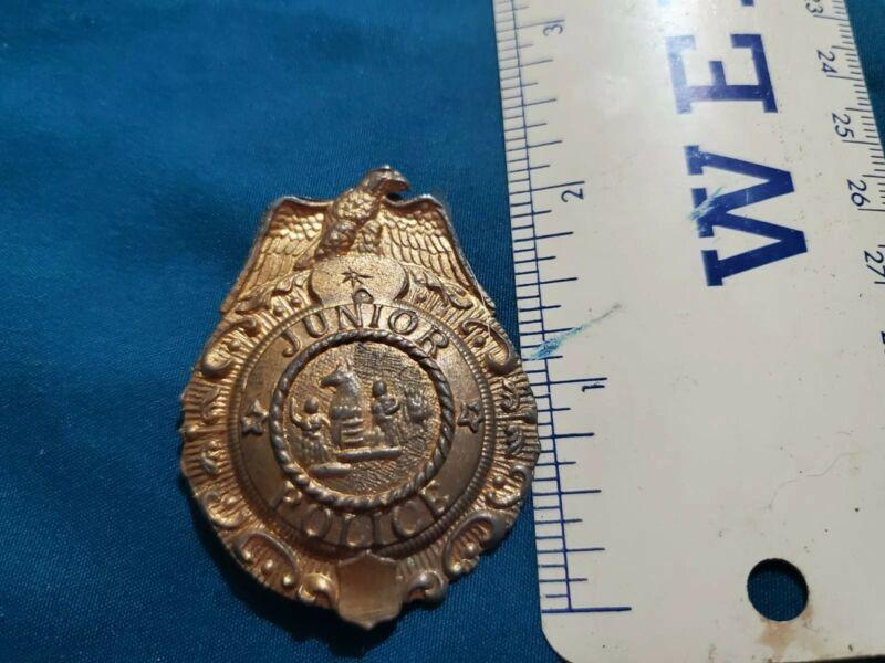 Vintage Junior Police Badge