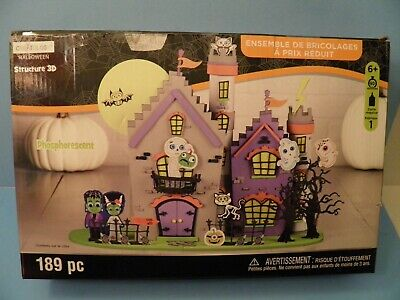 Creatology Halloween Glow in the Dark Frankenstien Castle 189pcs - Creatology Halloween