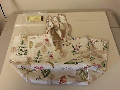 Longaberger Botanical Fields Regular Spring Basket OE Fabric Liner Only New