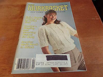 Винтажные April 1982 The Workbasket and