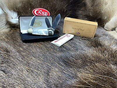 Case Hollingsworth Kane Prototype Pearl Canoe Knife 3 Blade Mint In Box 96C
