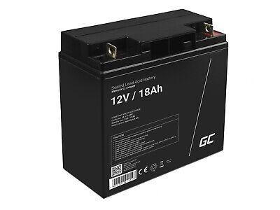 Batería Gel de plomo AGM 12V 18Ah Recargable para Moto eléctrica Montacargas