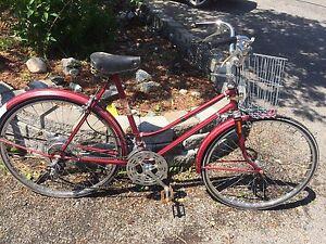 Antique ccm bike