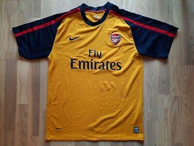 Nike Arsenal London football away 2008 2009 shirt jersey size XL soccer image
