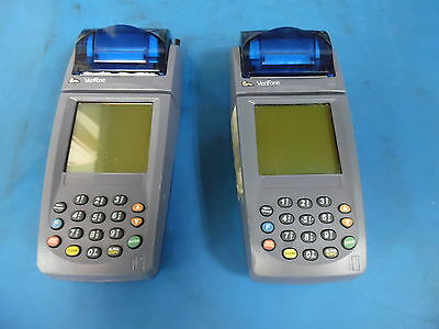 Lot Of 2 Verifone Nurit 8020 Card Reader Terminal Units Only No Ps