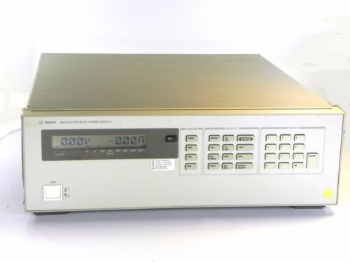 Agilent Hp Keysight 6621a Dc Power Supply, Dual Outputs, 7v/10a, 20v/4a, 80w